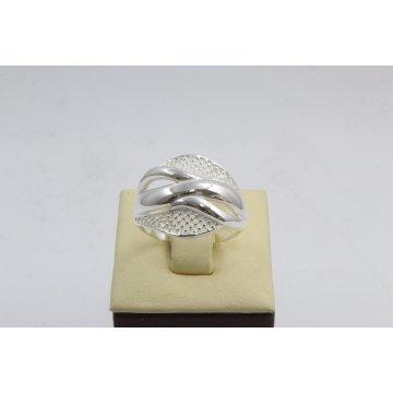 Дамски сребърен пръстен 4567