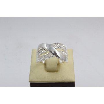 Дамски сребърен пръстен 4570