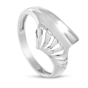 Дамски сребърен пръстен 4571