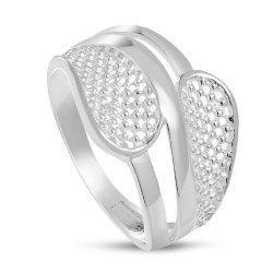 Дамски сребърен пръстен 4573