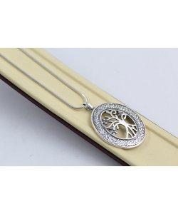 Сребърна верижка плетка картие 4623