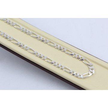 Сребърна верижка плетка картие 4625