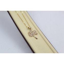 Дамско златно колие Дървото на Живота 4846