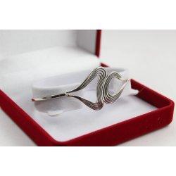 Дамска сребърна гривна на прешлени 4897