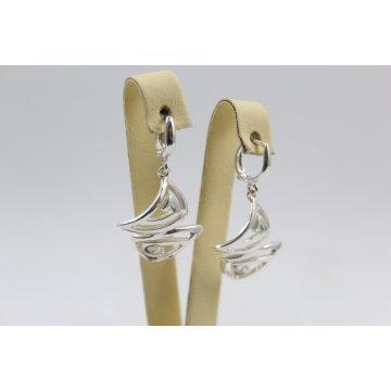 Дамски сребърни обеци 4959