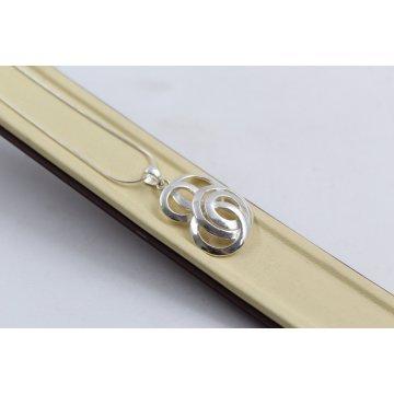 Дамско сребърно колие 4973