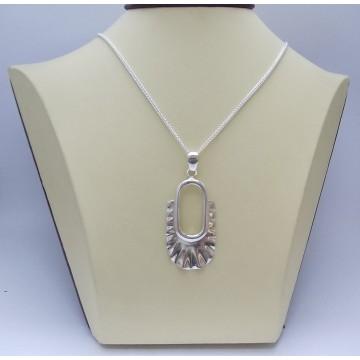 РАЗПРОДАЖБА -30% Сребърен медальон Царица Калина