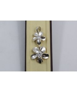 Дамски сребърен медальон Флорисимо 809