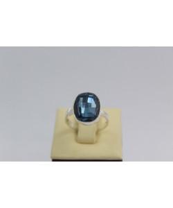 Сребърен дамски пръстен със Swarovski Elements Океански Дълбини 8611