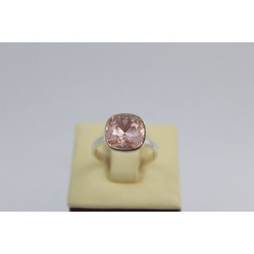 Сребърен дамски пръстен със Swarovski Elements Розалин