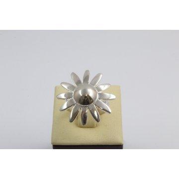 Дамски сребърен пръстен Гербер 96
