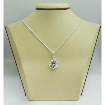 Дамски сребърен медальон Криста 1
