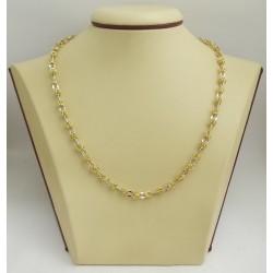 Златна верижка дамска кралска плетка 2384