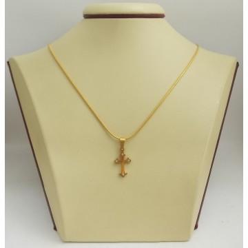 Стоманен медальон кръст 2520