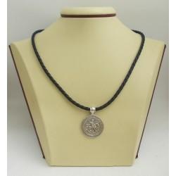 Сребърен ръчно изработен медальон Свети Георги 2600