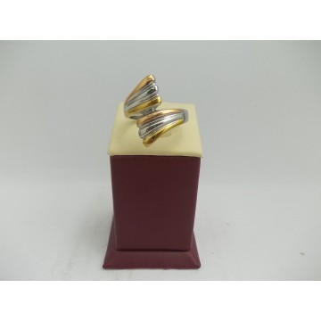Стоманен пръстен трицветна стомана 2755