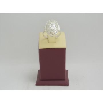 Дамски сребърен пръстен с четирилистни детелини 2791