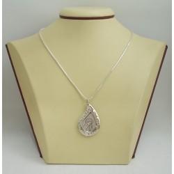 Сребърна висулка Богородица 2894