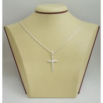 Сребърен кръст 2917