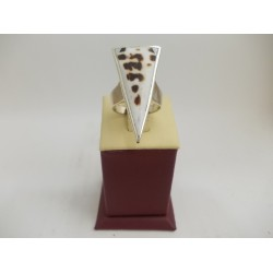 РАЗПРОДАЖБА -50% Сребърен седефен пръстен 2990
