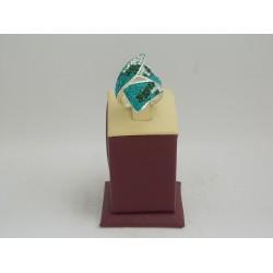 РАЗПРОДАЖБА -44% Сребърен пръстен с камъни 2998