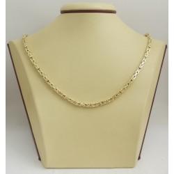 Златна верижка кралска плетка 3079