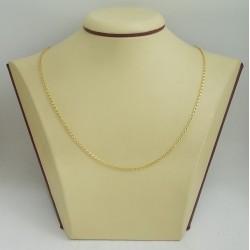 Златна дамска верижка жълто злато 3189