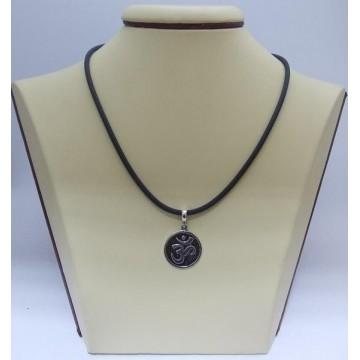 Сребърен медальон - Знакът Ом