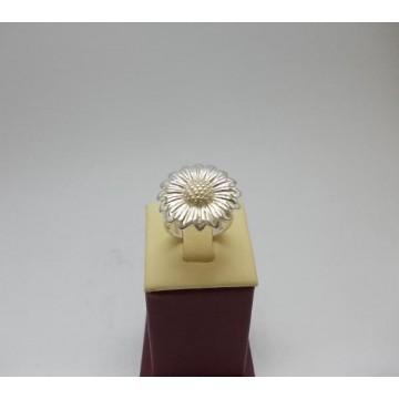Дамски сребърен пръстен - Гербер