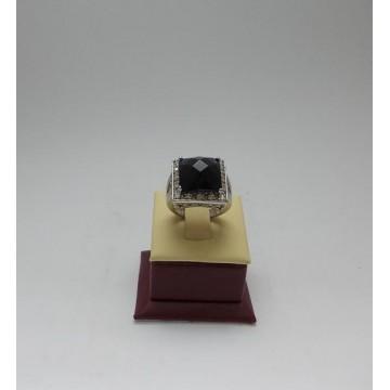 Сребърен дамски пръстен - Авантюрин