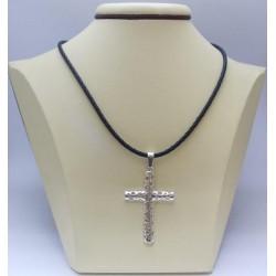 Сребърен дамски кръст Авангард