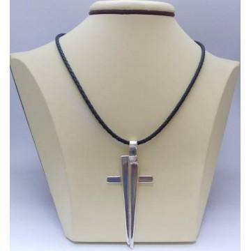 Сребърен дамски кръст Гавраил