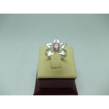Дамски сребърен пръстен - Розова Прелест