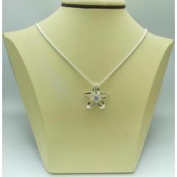Дамски сребърен медальон - Кристална Прелест