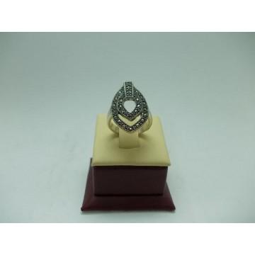 Дамски сребърен пръстен - Тъмната Владетелка