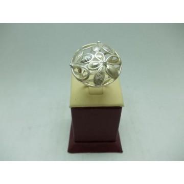 Дамски сребърен пръстен Букет