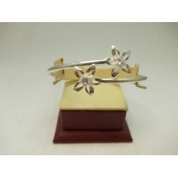 Дамска сребърна гривна - Кристална Прелест