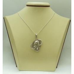 РАЗПРОДАЖБА 50% Дамски сребърен медальон Елеонора