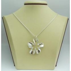Дамски сребърен медальон Нарцис