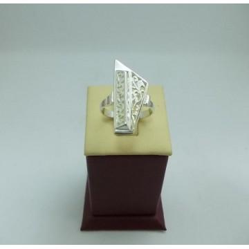 Дамски сребърен пръстен Пиано - Малко