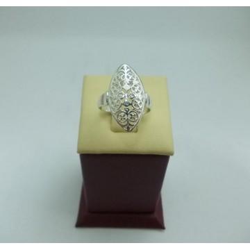 Дамски сребърен пръстен Бадем - Малък