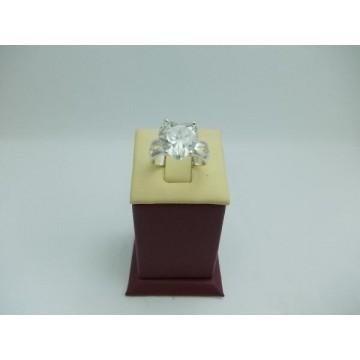 Дамски сребърен годежен пръстен Любов