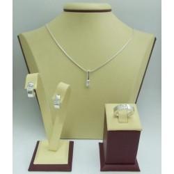 Дамски сребърен комплект Мини