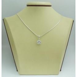 Дамски сребърен медальон Криста